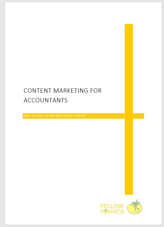 free guide to content marketing for accountants