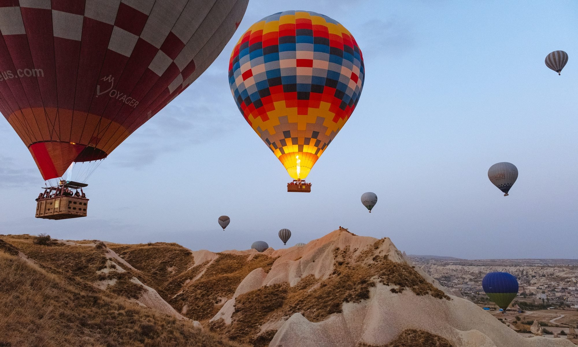 Content marketing is like a hot air balloon
