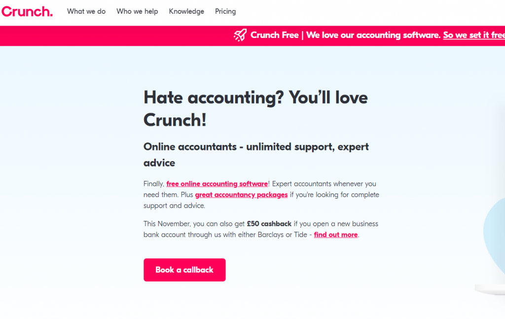 Crunch accounting