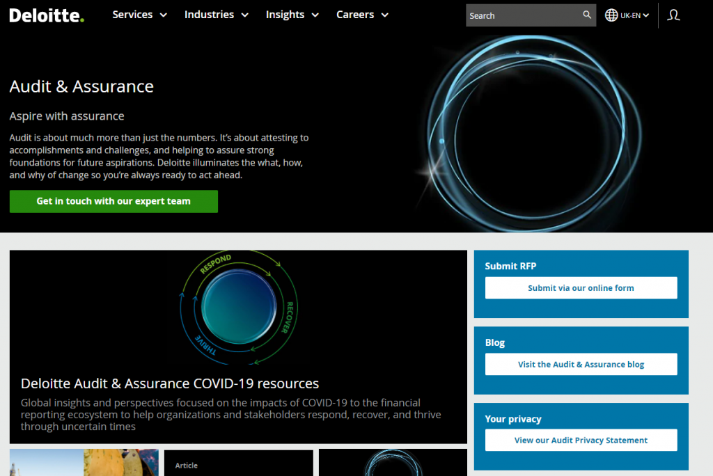 Deloitte website